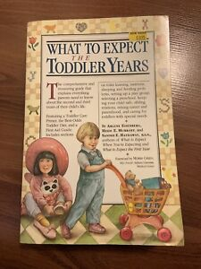 What to Expect: The Toddler Years book