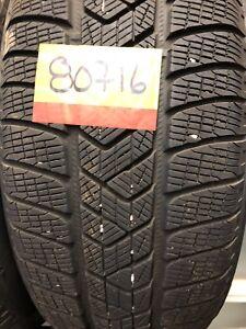 Pneus hiver runflat 255/50r19 pirelli scorpion