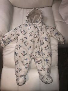 12 Month Baby Girl Snow Suit