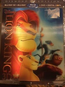 DISNEY BLU RAY DVD FOR SALE DIAMOND EDITIONS! LION KING & MORE