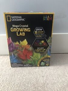 National Geographic Crystal Lab and stand.