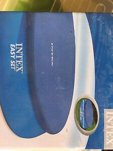 Intex inflatable swimming pool & pump/filter Hamersley Stirling Area Preview