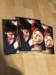 3 UNOPENED season 2 boxsets of Buffy the Vampire Slayer