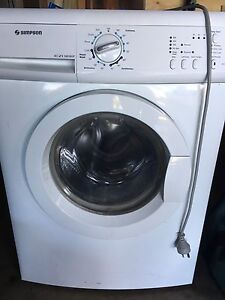 Simpson front loader washing machine Coolangatta Gold Coast South Preview