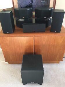 Klipsch 7.1 speaker system