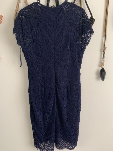 f85a16d5c281 Boutique Leah Eyelash Lace Curved Hem Bodycon Dress Size 14 | Dresses &  Skirts | Gumtree Australia Gosford Area - Wyoming | 1210774345