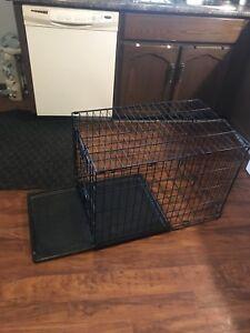 Dog cage single door