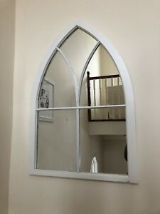 Gorgeous Cathedral Antique Window Mirror