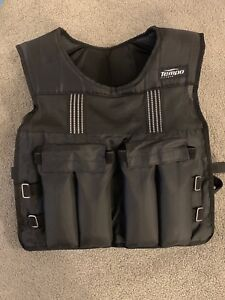 20 lb adjustable Weighted vest - tempo fitness