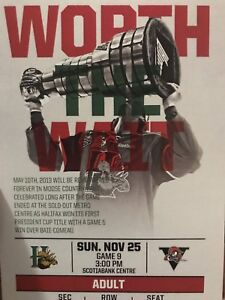3 Halifax Mooseheads Tickets UPDATED