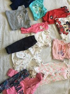 LARGE lot of baby clothes!