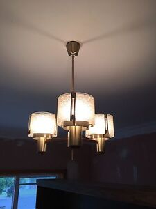 Hanging light and matching wall light Newtown Geelong City Preview