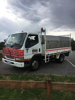 Mitsubishi canter truck with RWC