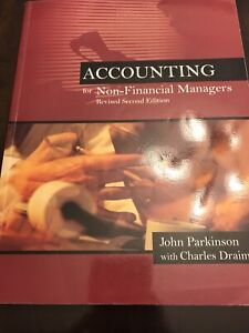 Accounting for Non-Financial Managers textbook