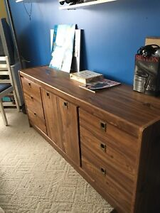 Dresser & 2 night tables & chest all 4 pieces for $250