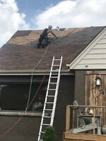 Roof repairs rain or shine we show up on time