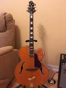 Samick Jazz 4 (Gibson L5 bridge) Archtop/hollow body