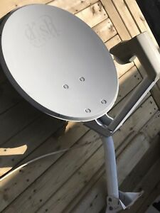 """Dish Network"" Satellite Dish w/Cable Wire included"