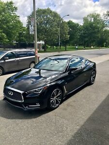Infiniti Q60 2017 Coupe Premium 3.0t double turbo 300hp