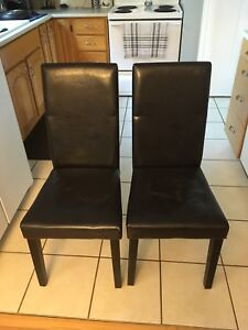 4 dining room chairs