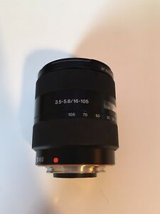 Lentille sony 16-105 mm F/3.5.5.6 DT Alpha mount
