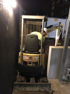2015 Yanmar vio17 excavator