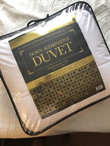 Sleep country queen duvet down alternative