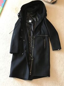 Brand new, authentic Mackage wool coat