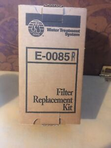 Filter replacement kit   E-0085 R