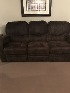 Palliser Brown Reclining Sofas