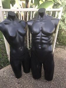 male  female clothing dummies Bolwarra Heights Maitland Area Preview
