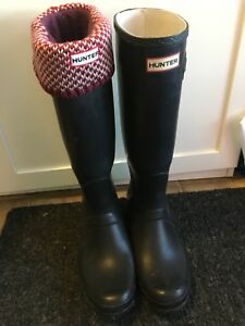 Hunter boots size 43