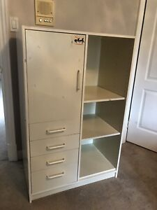 IKEA White Cabinet - Fully Functional