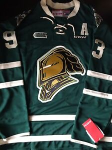 MITCH MARNER AUTOGRAPHED KNIGHTS JERSEY