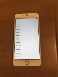 IPhone 6 Plus 128G Rogers Network