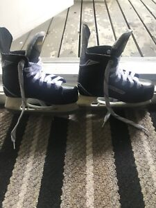 Boys skates and helmet
