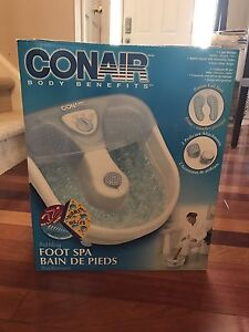 BRAND NEW Foot spa, never been used