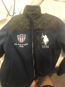 Assn Quilted Jacket Fleece s U Sherpa Polo Men's Yoke With DWEHY29I