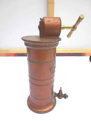 Antike Vaginal Spülmaschine ab 1850 mit Marke R Nr 2 G SELTEN Dekostück