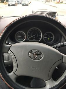 Toyota Sienna 2007 and no accidents