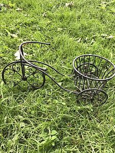 Mini Bicycle Plant Holder For Sale