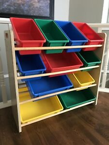 Excellent toy storage furniture!