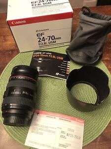 Objectif Canon EF 24-70 mm f/2.8L USM