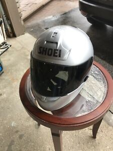 Shoei - RF900 Silver Helmet - size Medium