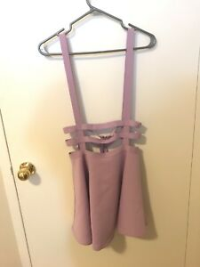 Light purple cage dress