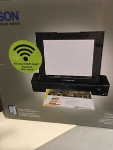 Brand new cordless wifi printer