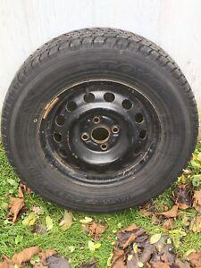 Winter Tires on Steel Rims