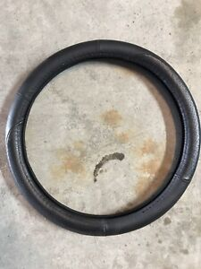 Steering wheel cover (leather)