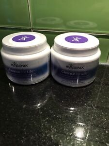 2 canisters of Isagenix Cleanse for Life Powder