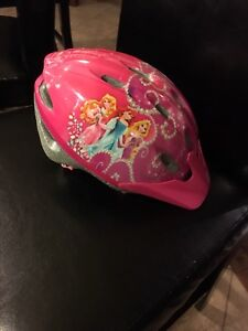 Girl bike helmet